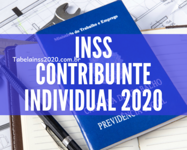 INSS Contribuinte Individual 2020