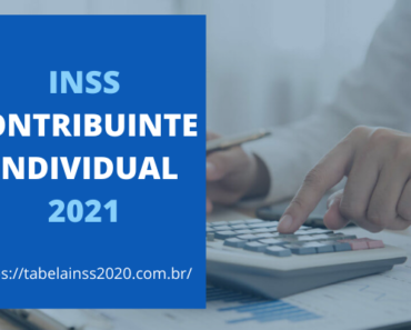 INSS Contribuinte Individual 2021